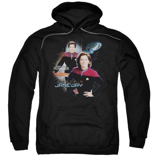 Image for Star Trek Voyager Hoodie - Captain Janeway