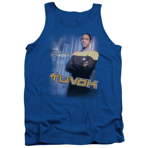 Image for Star Trek Voyager Tank Top - Tuvok