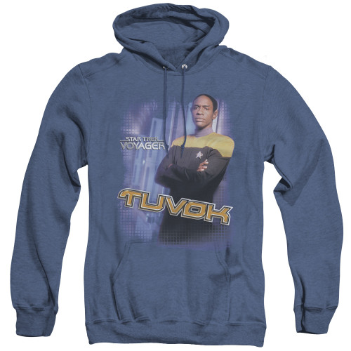 Image for Star Trek Voyager Heather Hoodie - Tuvok
