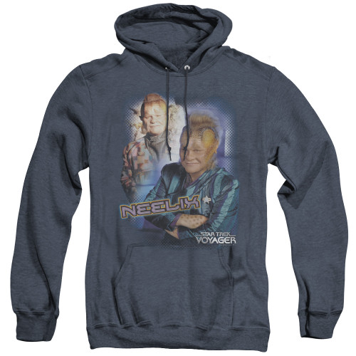 Image for Star Trek Voyager Heather Hoodie - Neelix