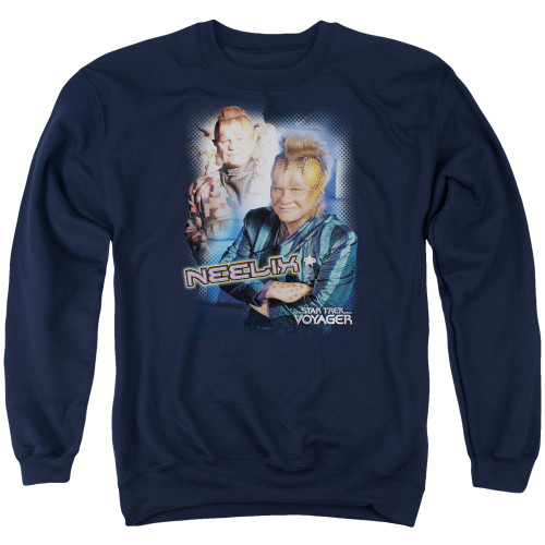 Image for Star Trek Voyager Crewneck - Neelix