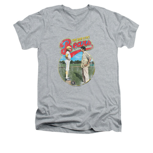 Image for Bad News Bears V-Neck T-Shirt - Vintage