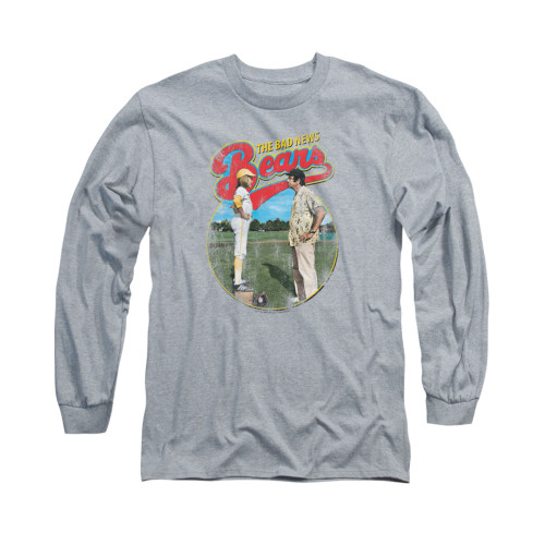 Image for Bad News Bears Long Sleeve T-Shirt - Vintage