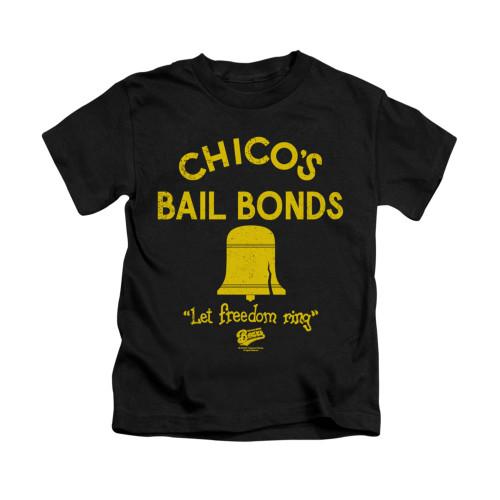 Image for Bad News Bears Kids T-Shirt - Chico's Bail Bonds