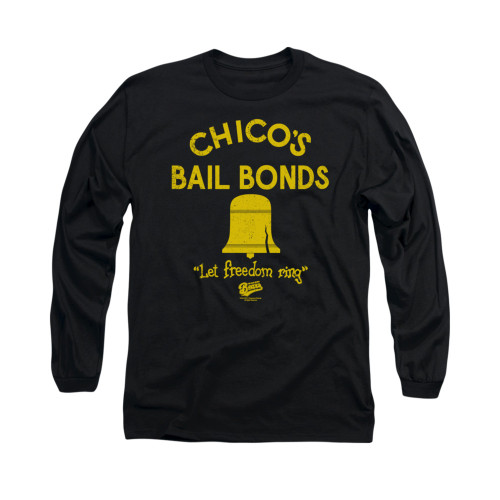 Image for Bad News Bears Long Sleeve T-Shirt - Chico's Bail Bonds