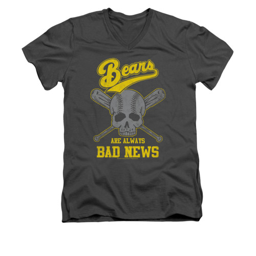 Image for Bad News Bears V-Neck T-Shirt - Always Bad News