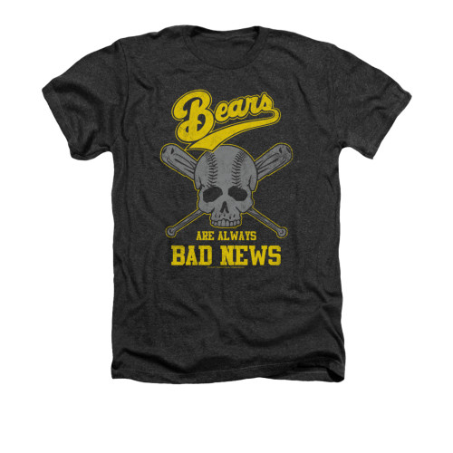 Image for Bad News Bears Heather T-Shirt - Always Bad News