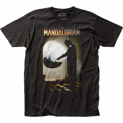 Image for Star Wars T-Shirt - The Mandalorian Mando Meets Child