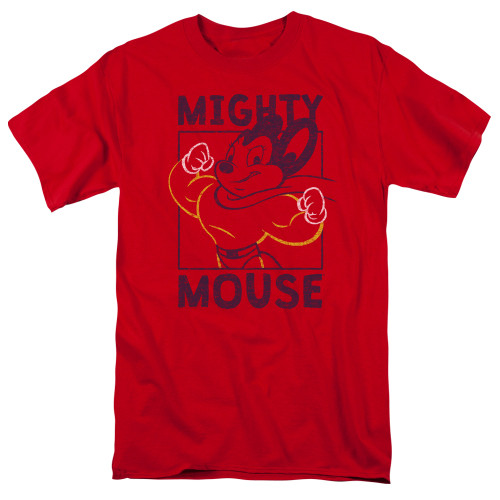Image for Mighty Mouse T-Shirt - Break The Box
