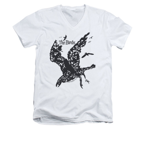 Image for The Birds V-Neck T-Shirt - Title