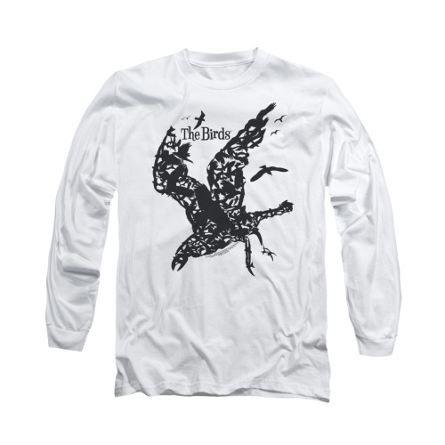 Image for The Birds Long Sleeve T-Shirt - Title