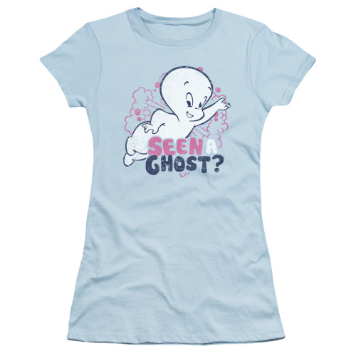 Image for Casper the Friendly Ghost Girls T-Shirt - Seen A Ghost