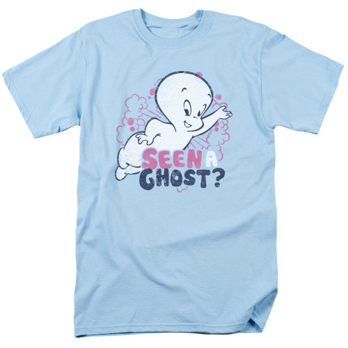 Image for Casper the Friendly Ghost T-Shirt - Seen A Ghost