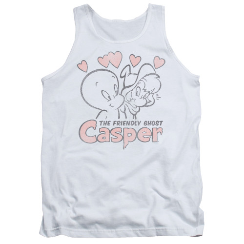 Image for Casper the Friendly Ghost Tank Top - Hearts