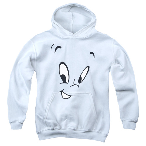 Image for Casper the Friendly Ghost Youth Hoodie - Face