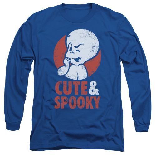 Image for Casper the Friendly Ghost Long Sleeve T-Shirt - Spooky