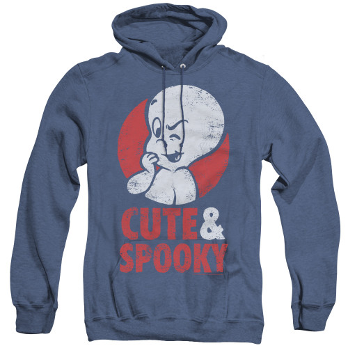 Image for Casper the Friendly Ghost Heather Hoodie - Spooky