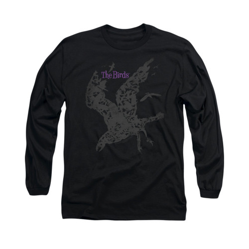 Image for The Birds Long Sleeve T-Shirt - Poster