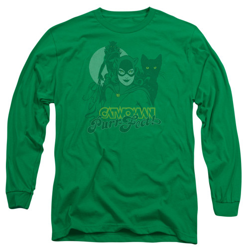 Image for Catwoman Long Sleeve T-Shirt - Perrfect!