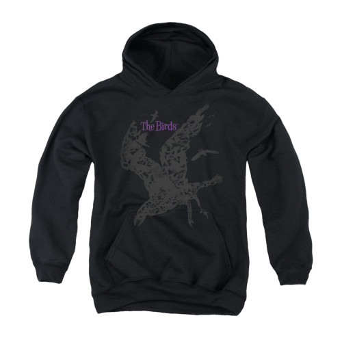 Image for The Birds Youth Hoodie - Poster