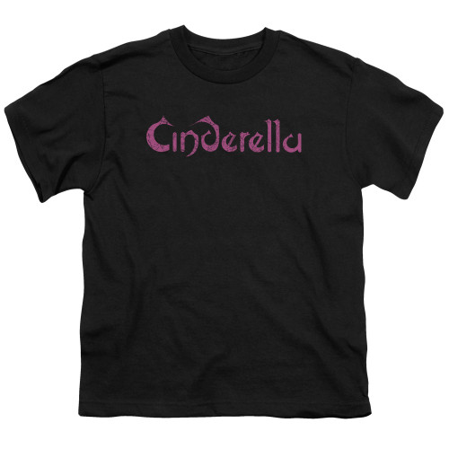 Image for Cinderella Youth T-Shirt - Logo Rough
