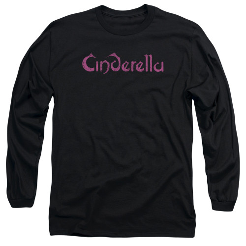 Image for Cinderella Youth Long Sleeve T-Shirt - Logo Rough