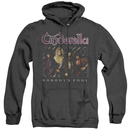 Image for Cinderella Heather Hoodie - Nobody's Fool