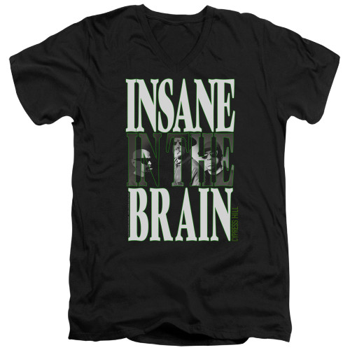 Image for Cypress Hill V-Neck T-Shirt Insane In The Brain