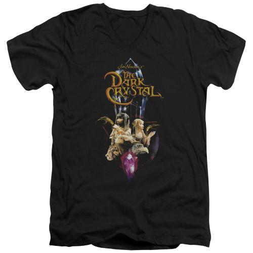 Image for The Dark Crystal V-Neck T-Shirt Crystal Quest