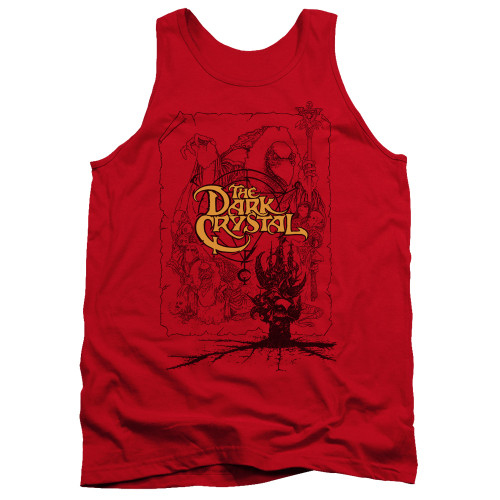 Image for The Dark Crystal Tank Top - Poster Lines