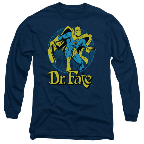 Image for Doctor Fate Long Sleeve T-Shirt - Dr. Fate Ankh