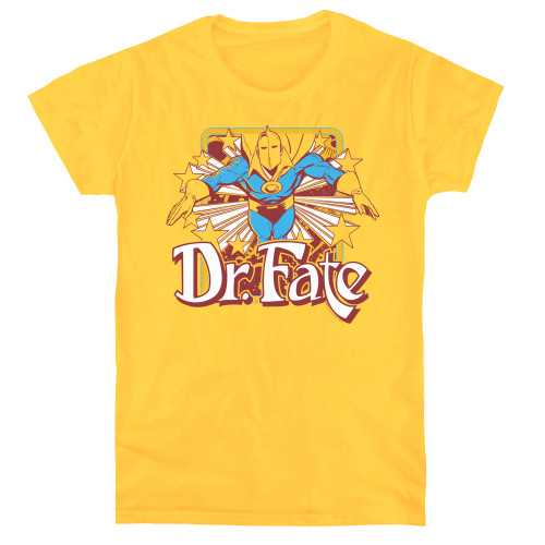 Image for Doctor Fate Woman's T-Shirt - Dr. Fate Stars