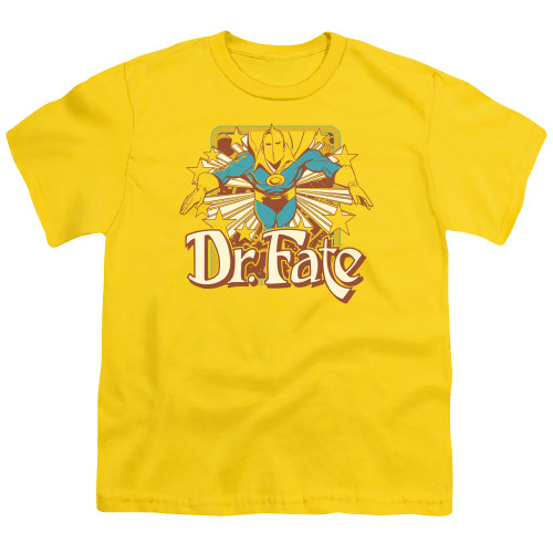 Image for Doctor Fate Youth T-Shirt - Dr. Fate Stars