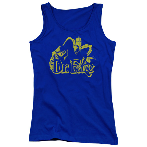 Image for Doctor Fate Girls Tank Top - One Color Fate