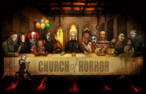 Image for Church of Horror Poster