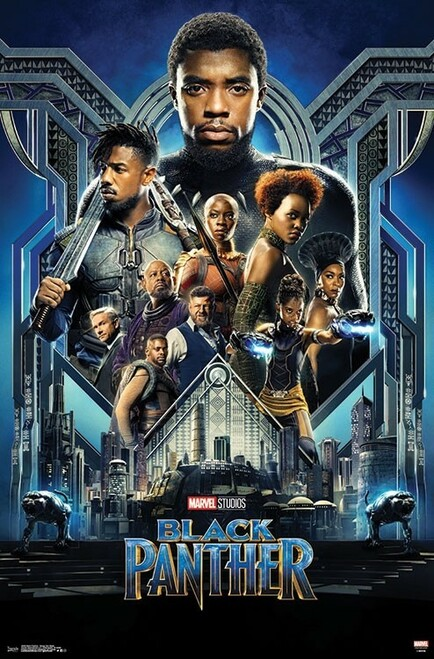 Image for Black Panther One Sheet Movie Poster
