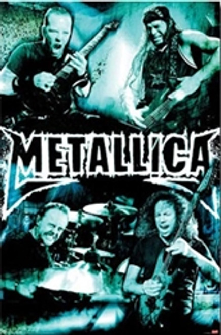 Image for Metallica Poster - Live Montage