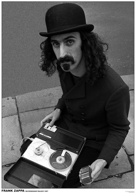 Image for Frank Zappa Poster - Buckingham Palace 1967