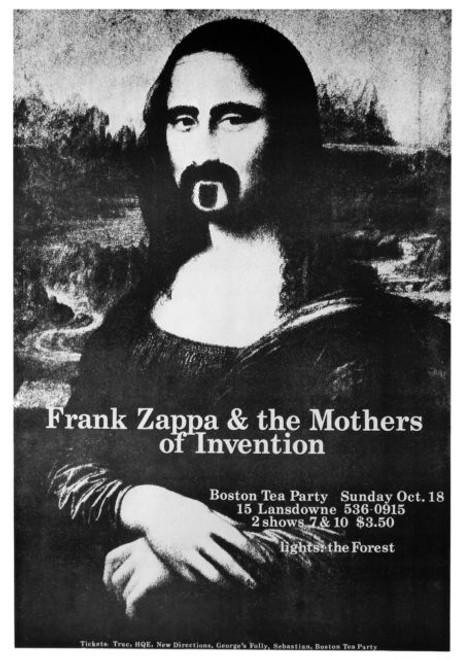 Image for Frank Zappa Poster - Mona Lisa