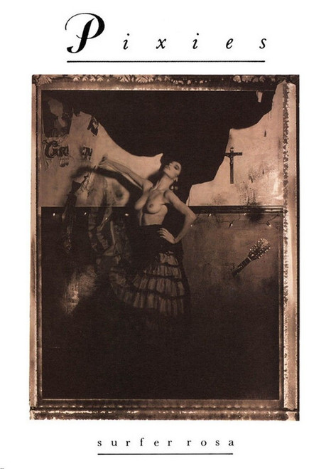 Image for The Pixies Poster - Surfer Rosa