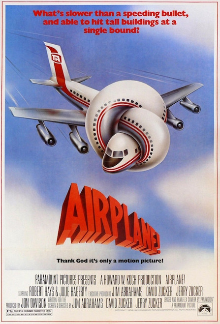 Image for Airplane One Sheet Poster