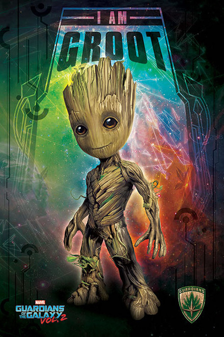Image for Guardians of the Galaxy Poster - I am Groot
