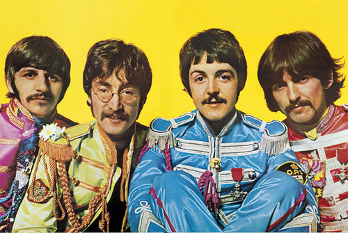 Image for The Beatles Poster - Lonely Hearts Club Band
