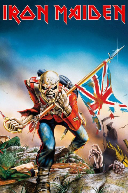 Image for Iron Maiden Poster - Trooper