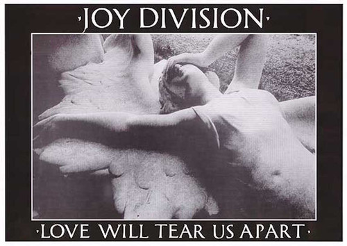 Image for Joy Division Poster - Love Will Tear Us Apart