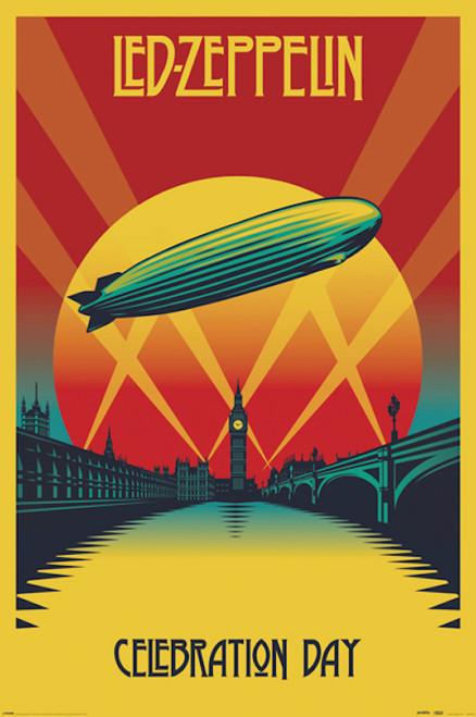 Image for Led Zeppelin Poster - Celebration Day