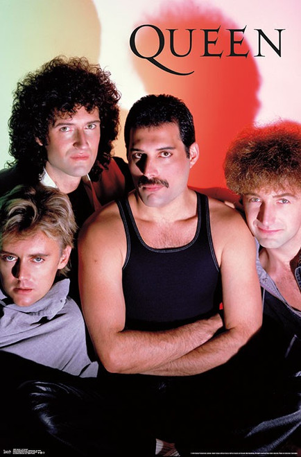 Image for Queen Poster - Group Shadow