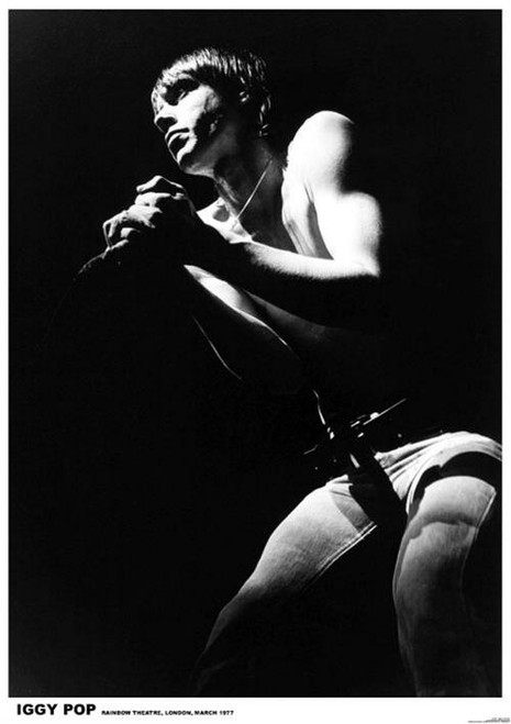 Image for Iggy Pop Poster - London 1977