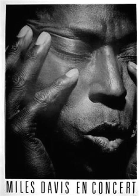 Image for Miles Davis En Concert Poster