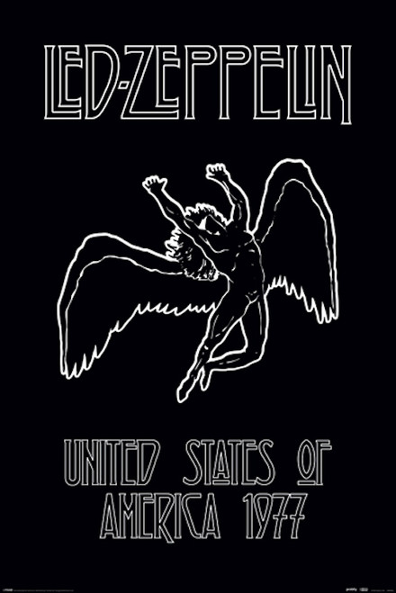 Image for Led Zeppelin Poster - Icarus